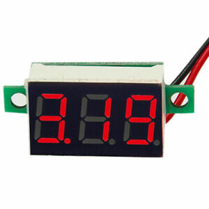 DC 0-100V Red LED Digital Voltmeter Voltage Panel Meter