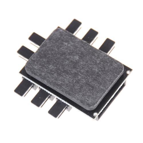 NUOVO PC IDE Molex 1 a 8 vie Splitter Hub ventola di raffreddamento 3-Pin presa di corrente PA AG