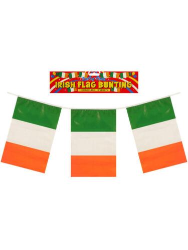 12ft Irish Eire Ireland St Patrick Day Party Decoration Flag Banner Bunting Pvc
