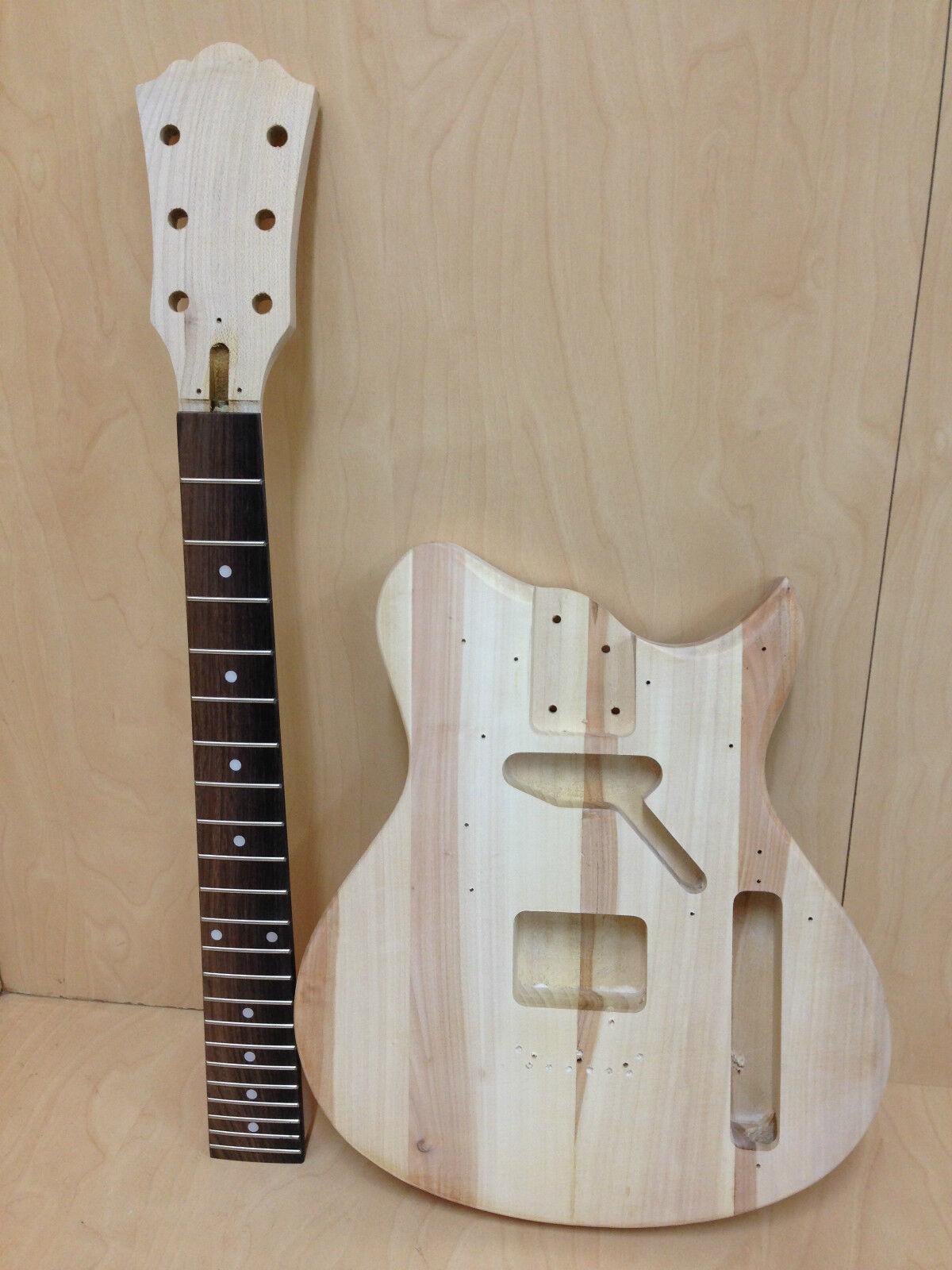 E-i38DIY No-Soldering, 3/4 Größe Short Short Short Scale TE Style Electric Guitar DIY Kits fd50d8