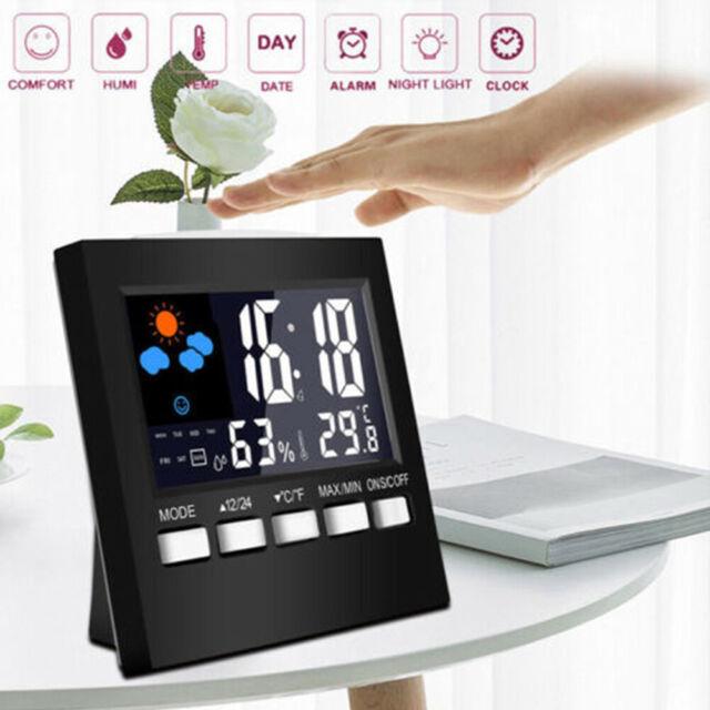 Extra Large Lcd Display Manual Time, Digital Projection Alarm Clock Manual