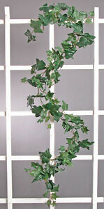 PUFF IVY GARLAND ~ 6 ft Greenery Leaves Silk Wedding Flowers Arch Home Decor NEW