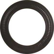 NEW IMPERIAL BM0096 8 INCH BLACK STOVE PIPE 24 GAUGE COLLAR TRIM RING 0366880