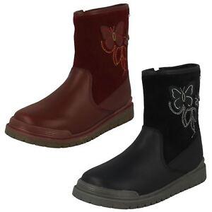 Kleidung & Accessoires Kindermode, Schuhe & Access. Girls Startrite Aqua-rite Zip Up Butterfly Boots Tidal