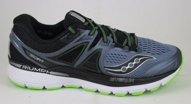Saucony S20346 Men's 4 Triumph ISO 3 Grau Men's S20346 Running Schuhes Größe 7.5 US 1c3d64