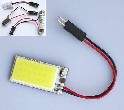 2x HID 21 COB LED Panel Light Efficient For Car Auto Interior White Lamp T10 W5W