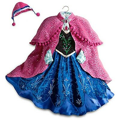 Disney Store Frozen Anna Limited Edition LE Costume RARE!!  SOLD OUT!!