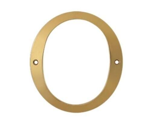 Numéro 0 Laiton Massif 6 in environ 15.24 cm en 4 finitions FPL Door Locks /& Hardware