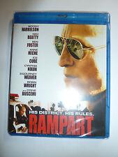 Rampart Blu-ray Woody Harrelson police crime drama movie Ice Cube cops 2011 NEW!