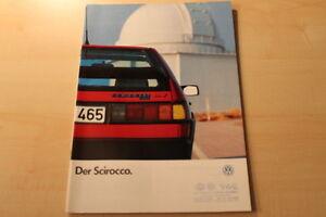 66128 Vw Scirocco Prospekt 01/1987 Auto & Motorrad: Teile Anleitungen & Handbücher