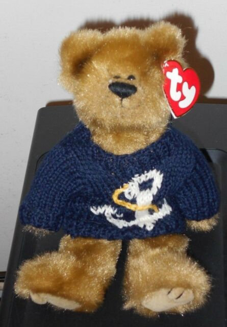 Buy Ty Attic Treasures Collection 6056 Salty The Bear Anchor Sweater ... 853498c09ca