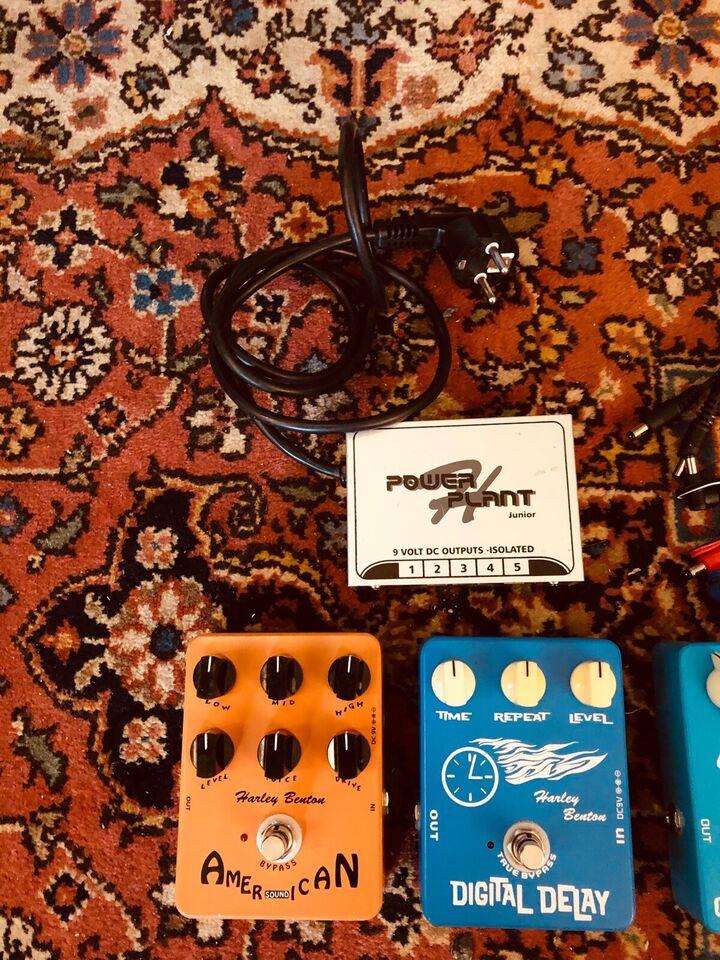 Diverse pedaler, Andet mærke Harley Benton