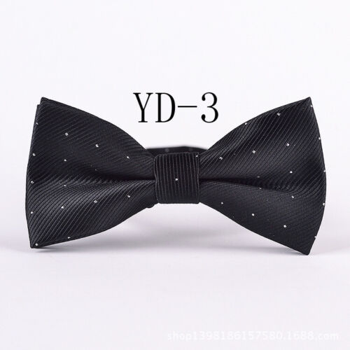 GIFTS For Men Spots Silk Bow Tie Neck Mens Pre-tied Formal  Party Wedding Dress