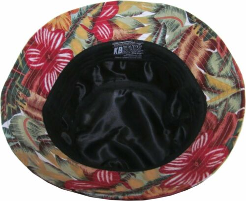 NEW Bucket Hat Boonie Flower Hunting Fishing Outdoor Cap Unisex