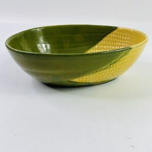 Shawnee-Pottery-Corn-King-Serving-Bowl-95-Vintage-Very-Good-Condition