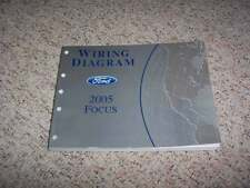 2005 Ford Focus Electrical Wiring Diagram Manual ZX3 ZX4 ZX5 ZXW 2.0L 2.3L 4Cyl