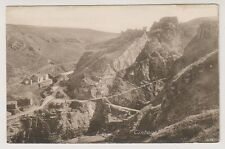 Cornwall postcard - Tintagel