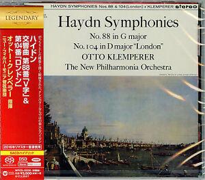 OTTO-KLEMPERER-HAYDN-SYMPHONIES-NOS-88-amp-104-039-LONDON-039-JAPAN-SACD-HYBRID-G88