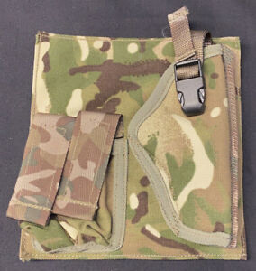 British Military MTP Empty AFV Crewman Tactical Vest Holster Panel
