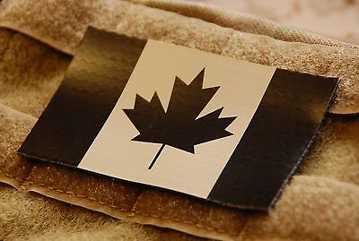 Canadian IR Tan Flag Patch JTF-2 CSOR CANSOFCOM SOG Infrared Flag Patch