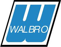 Genuine Walbro Carburetor Wt-56 Wt56 No Longer Manufactured