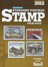 Scott Standard Postage Stamp Catalogue 2012: Countries of the World San-Z (Scot
