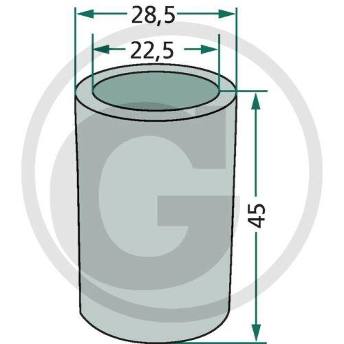 4-22,4mm /_ reduzierhülse /_ tractor /_/_/_/_/_/_/_ 2 unid braguitas reduzierbuchse Ober manillar kat.2-1/_28