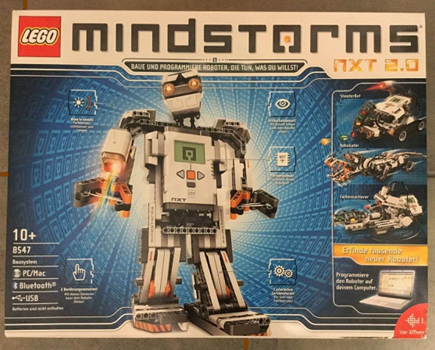 LEGO Mindstorms 8547 2 generazione Mindstorms NXT 2.0 con imballo originale