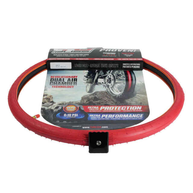 "Nuetech  Mx Tubliss Motorbike Tube Replacement Gen 2.0 19"" Rear Tyre Kit"