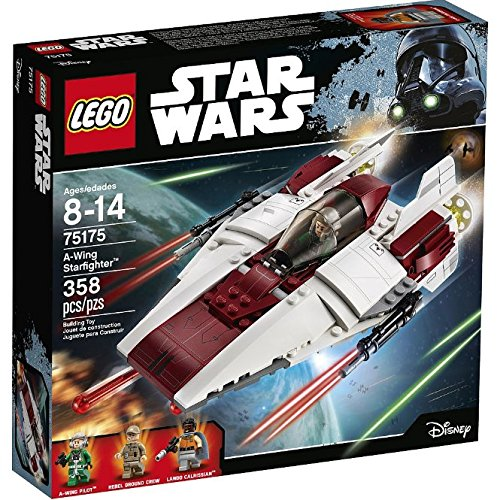 Brand New Sealed LEGO Star Wars Jedi A-Wing Starfighter Complete Box Set (75175)