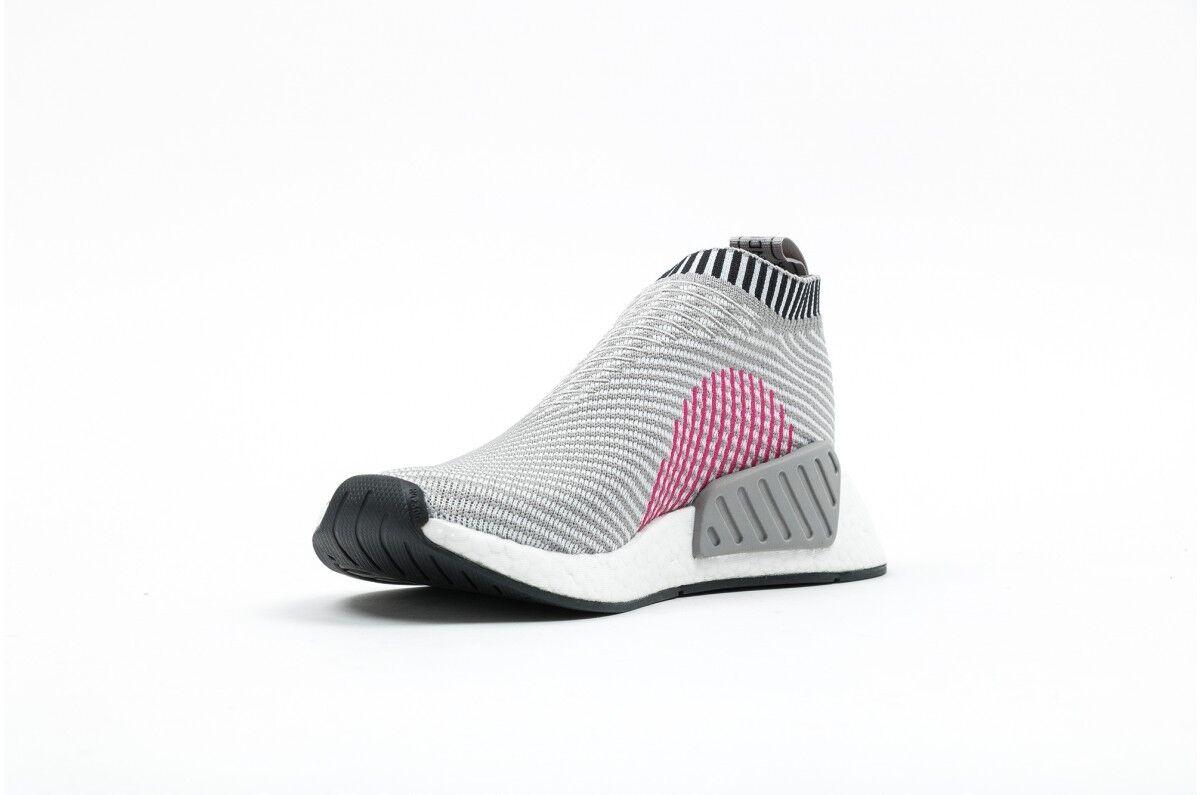6fa1aa7f9 adidas Nomad City Sock Primeknit NMD Cs2 PK Grey Pink Ba7187 Size 10.5 for  sale online