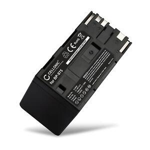 Batterie pour Canon BP-930 BP-925 BP-975 BP-927 BP-914 BP-924 BP-955 7800mAh