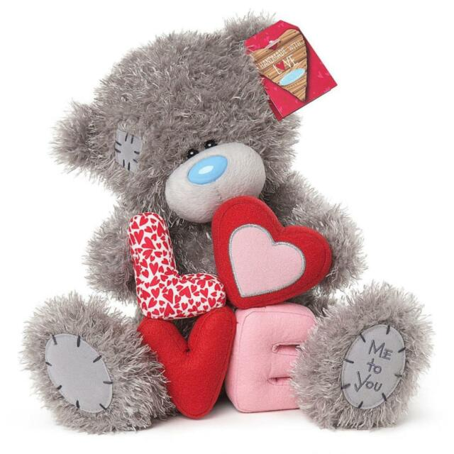 Me to you 10 valentines plush love letters romantic gift tatty me to you tatty teddy collectors 9 plush bear love letters altavistaventures Images