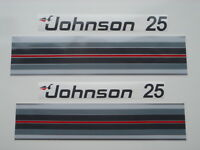 1983 Johnson Outboard Hood Decals 25/35 Hp