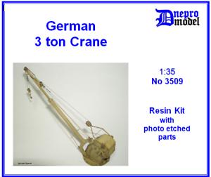 German 3 ton Crane 1 35