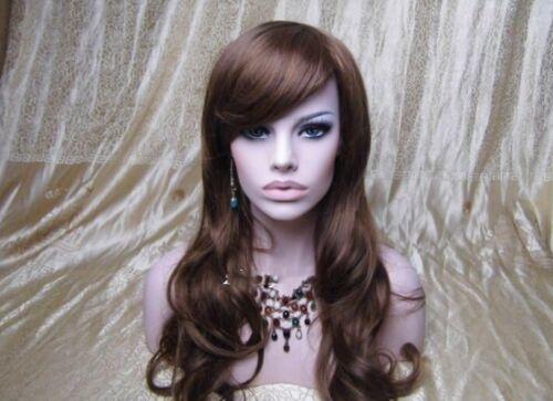 Whiten Skin Fiberglass Female Mannequin Head Bust For Wig,Jewelry//Hat Display 19