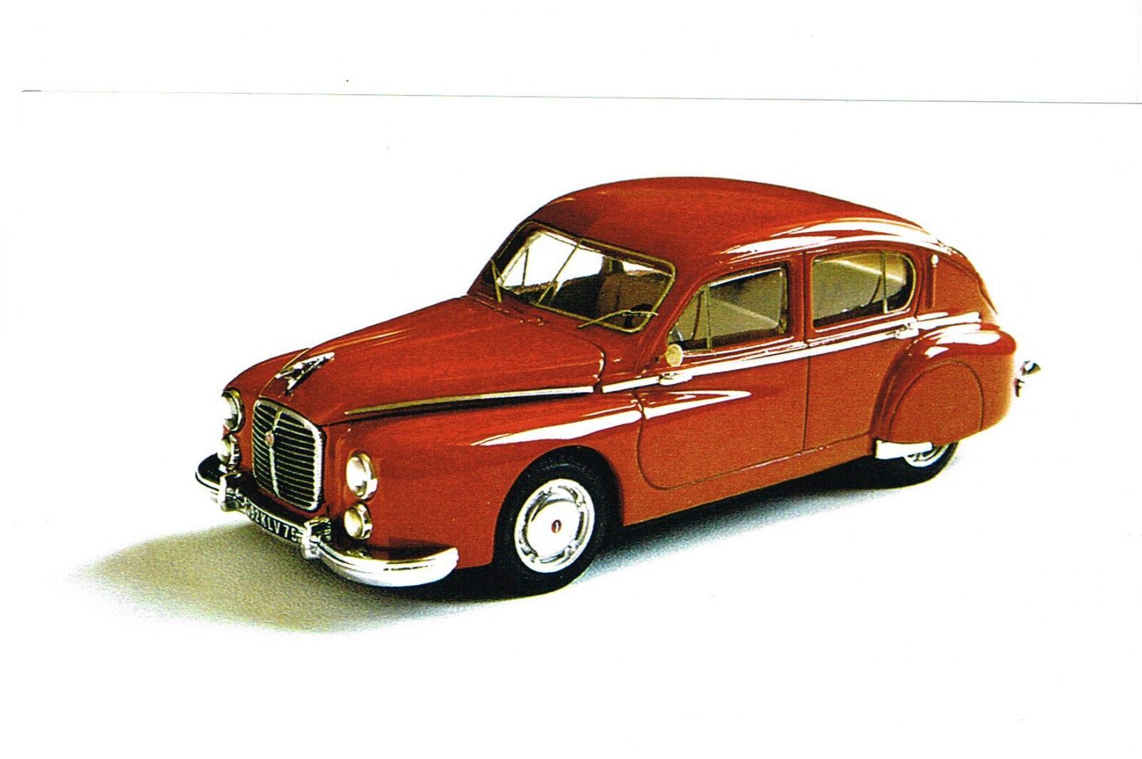 Kit pour miniature auto CCC   Hotchkiss Grégoire berline 1952 référence 173