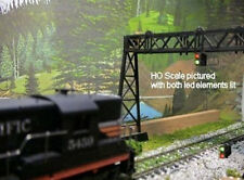 20 RED & GREEN S SCALE SWITCH POSITION INDICATOR LEDS & FREE RESISTORS FOR 12 V