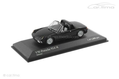 Porsche 914//4 1973 Minichamps 1:43-430065671 schwarz