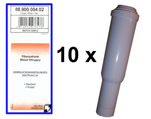 10 x Scanpart Filter Compatible with Jura Impressa Claris White   Cleaning Tabs