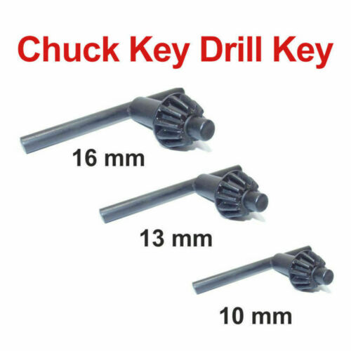 New 10mm 13mm and 16mm Chuck Keys Drill Key Replacement Chuck Key High Quality