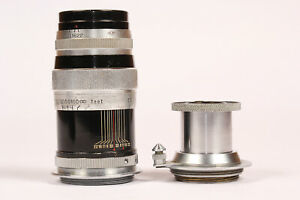 Vintage-Canon-100mm-f3-5-Tokyo-Opt-C-Simlar-50mm-f3-5-Lenses-M39-LTM