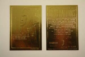 Star-Trek-GENERATIONS-Movie-Poster-23KT-Gold-Card-Sculptured-10-000-BOGO