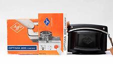 Agfa Optima 200 Sensor Kamera mit OVP,  Tasche und Bedienungsanleitung Nr.596