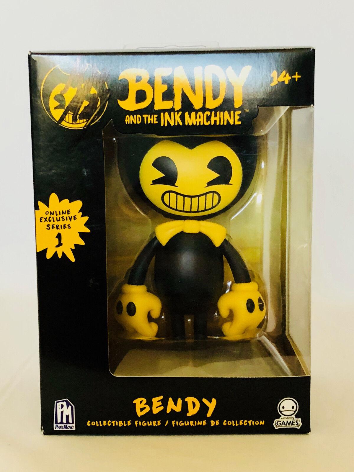 Figura de máquina de tinta y el Bendy Firmado Autografiado Por Mike estado de ánimo creador Co