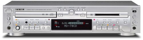 CD Combination Deck F//S from JP TEAC MD-70CD-S CD Player//MD Recorder Mini Disc