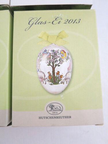 Hutschenreuther Porzellan Ei  Glas Ei 2001 2002 2003 2004 2005 2011 Jahresei