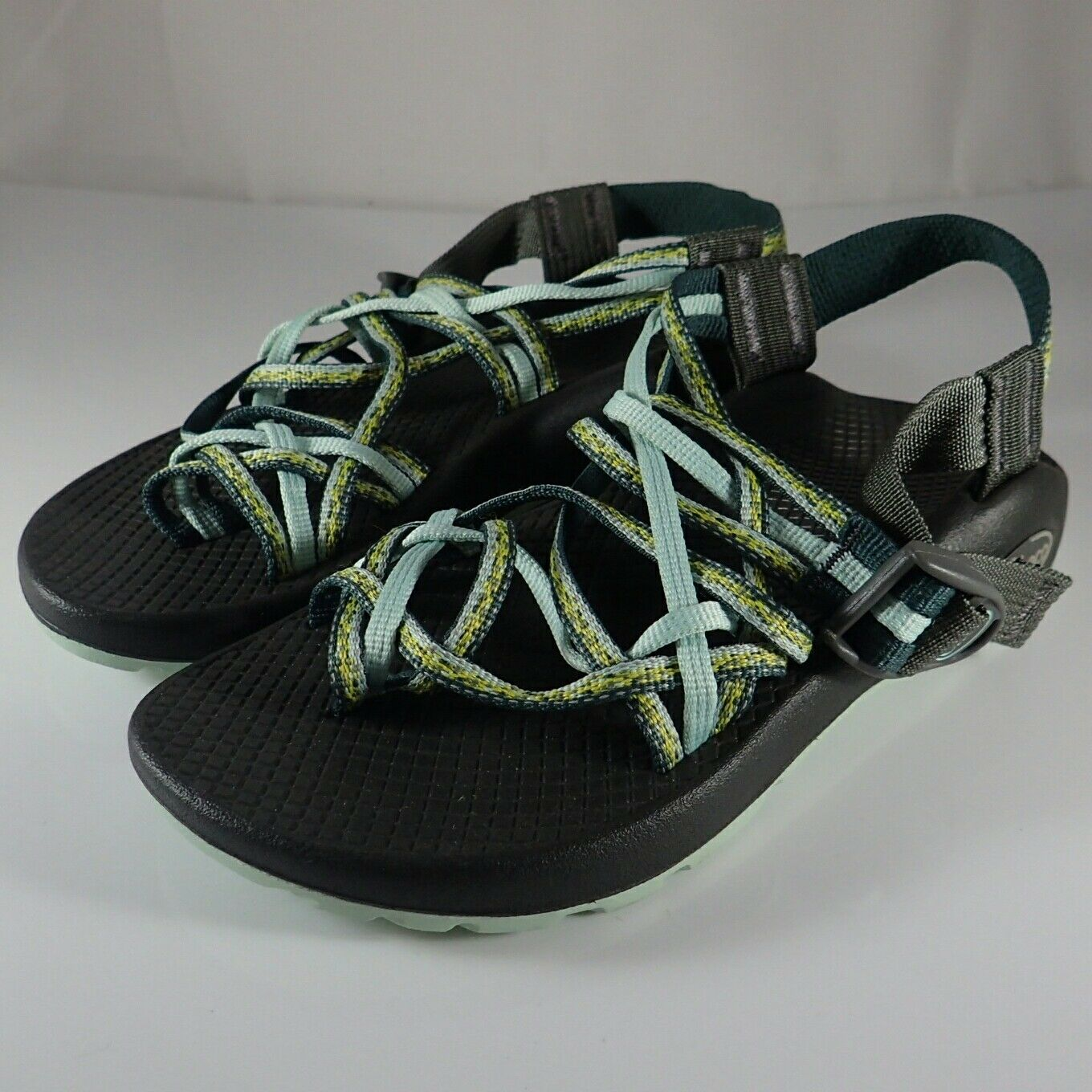 Chaco Green Strappy Sandals 5 - New