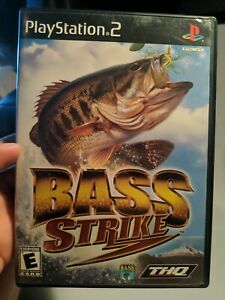 BASS Strike (Sony PlayStation 2, 2001) Complete Tested Working PS2