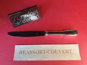 Couteau-Desserts-21-cm-Old-Paris-Ravinet-D-Enfert-Correct-Condition-Metal-Silver
